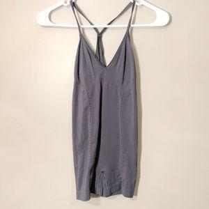 Spanx | Gray Shapewear Bodysuit Tank Sz S